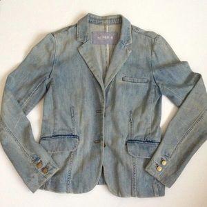 GAP Jean Blazer Jacket size 6